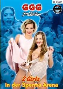 Zwei Girls In Der Sperma Arena