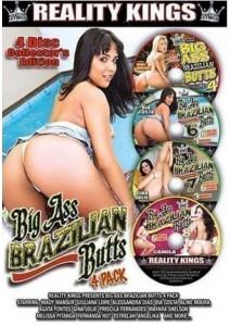 BOX Big Ass Brazilian Butts (4 DVD)