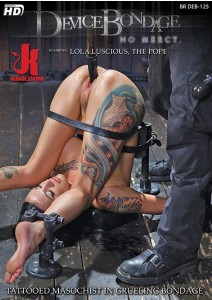Tattooed Masochist in Grueling Bondage