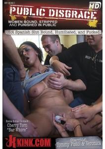 Hot Spanish Slut Bound, Humiliated and Fucked